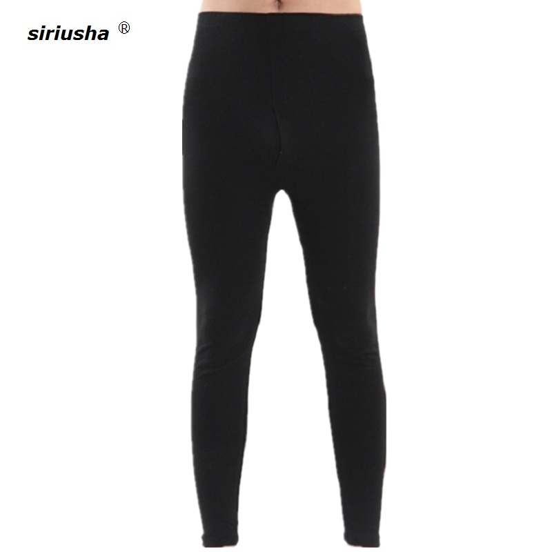 Borsa Termica Oversize Long Johns Men 1-7xl Leggings Thin Bamboo Fiber Sleeping Pants To 120kg Pajama Thermal Underwears S43
