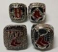 4pcs per set 2004 2007 2013 Boston Red Sox championship rings replica drop shipping