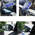 Para KIA RIO Espelho Retrovisor Auto Sombra À Prova de Chuva Carro de Volta espelho Chuva Sobrancelha Adesivo cobrir Pala de Sol Estilo Do Carro NOVO chegada
