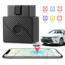 OBD II GPS Tracker 16 Pin Plug Play Car GSM OBD2 Tracking Device locator OBDII with online Software IOS Andriod APP