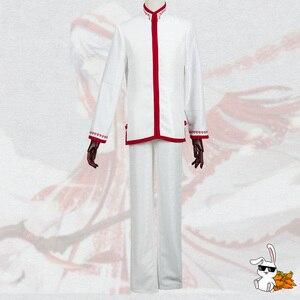Image 3 - Anime! Spiritpact DuanMuXi Rot Blau Opfer Archaic Priesthood Mantel Kimono Wunderschöne Uniform Cosplay Kostüm Kostenloser Versand