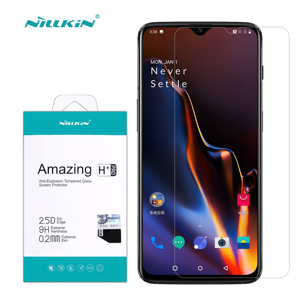Screen Protector OnePlus 6T Tempered Glass Film Nillkin Amaz