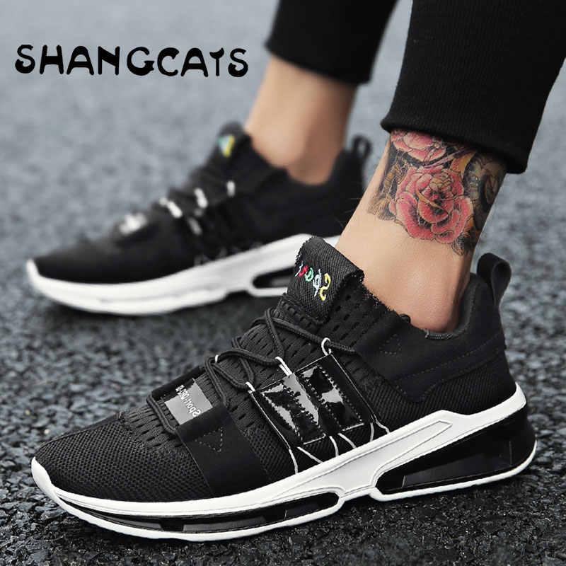 1523315128d5 ... Модные мужские кроссовки для молодых Для мужчин кроссовки дизайнеров  Обувь zapatillas hombre Повседневное Moda обувь Для ...