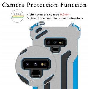 Image 4 - R just funda protectora de Metal para Samsung Galaxy Note 8, S7, Edge, S8 Plus, a prueba de golpes, a prueba de polvo, para Galaxy Note 9