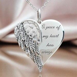 Letter A Piece of My Heart Has Wings Ele
