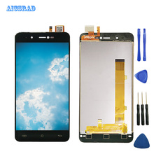 AICSRAD LCD Display For Cubot R9 Touch Screen Panel Assembly with frame Replacement Screen For Cubot R 9 Phone +tools