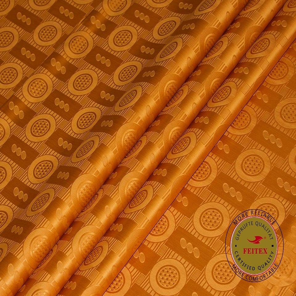 Bazin Riche Fabric Getzner Quality 2019 Nouveau Golden Jacquard - Արվեստ, արհեստ և կարի