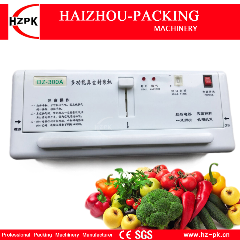 Portable Electric Household Vacuum Packer For Food Saver Home Vacuum Sealer With Vacuum Bags Best Packing Machine (DZ-280) household vacuum packaging sealing machine sealer wet and dry use 30cm 110w 220v
