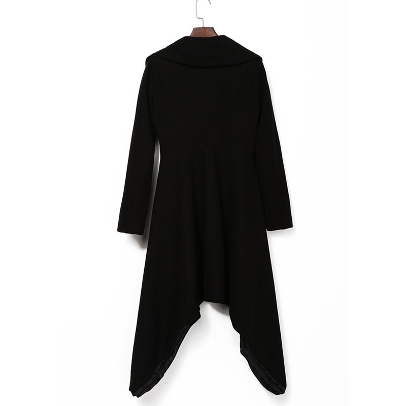 Aliexpress.com : Buy Women Winter Autumn Jackets Long Asymmetric ...