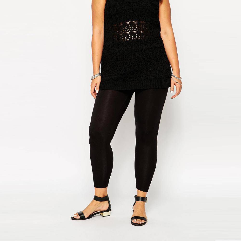 HDY Haoduoyi New Plus Size Women Clothing spring Black Casual Holiday Solid Slim High Waist Elastic Skinny Pencil Pants 3XL-6XL