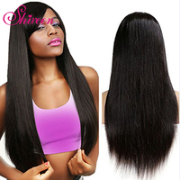 Shireen Brazilian Straight Hair With Lace Closure 4x4 Free Part 4 Pcs Natural Color Non Remy
