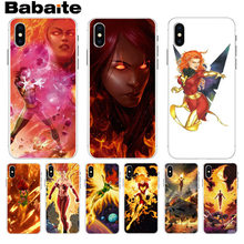 Babaite X man Jean Grey Phoenix DIY Painted Beautiful Phone Accessories case for iPhone 8 7 6 6S Plus X XS max 10 5 5S SE XR(China)