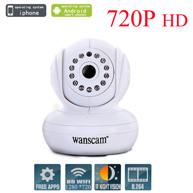 Wanscam HW0021 Security Camera Wireless IP Camera WIFI 720P HD TF-Card Built-in IR-Cut Night Vision