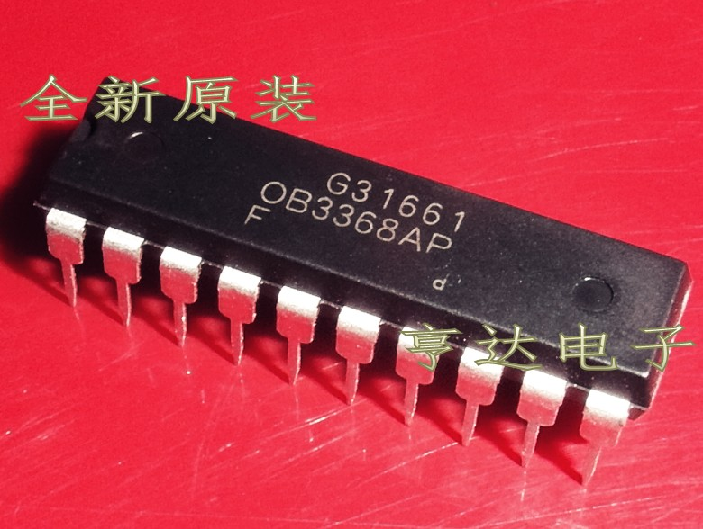 1pcs/lot OB3368AP 0B3368AP new LCD  chip DIP 20 In Stock-in Integrated Circuits from Electronic Components & Supplies