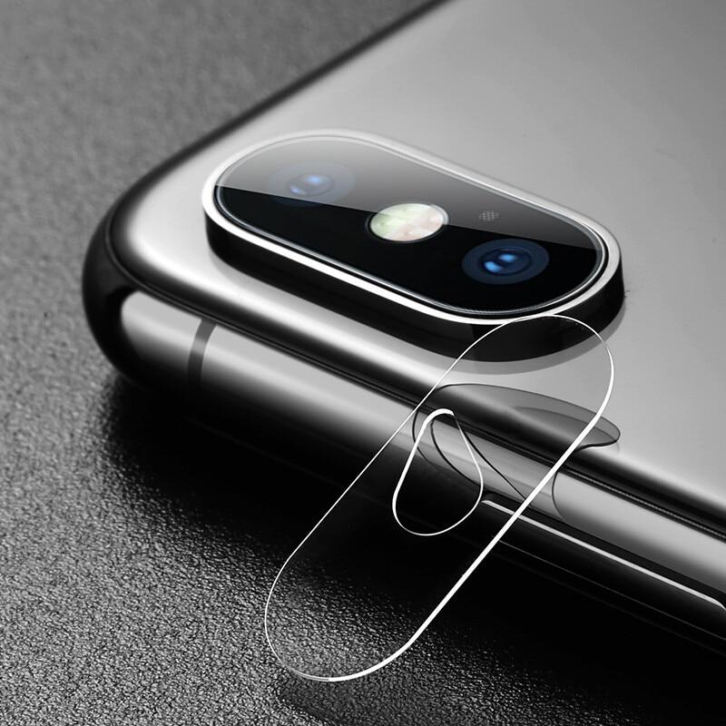 2pcs 0.15MM Len Camera Tempered Glass Film for iPhone X Camera, Glass Protector for iPhone X Camera Lens 2 Packs