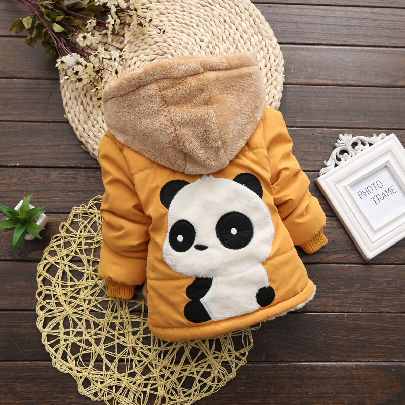 Infant Coat 2019 Autumn Winter Baby Jackets For Baby Boys Jacket Kids Warm Outerwear Coats For Baby Girls Jacket Newborn Clothes(China)
