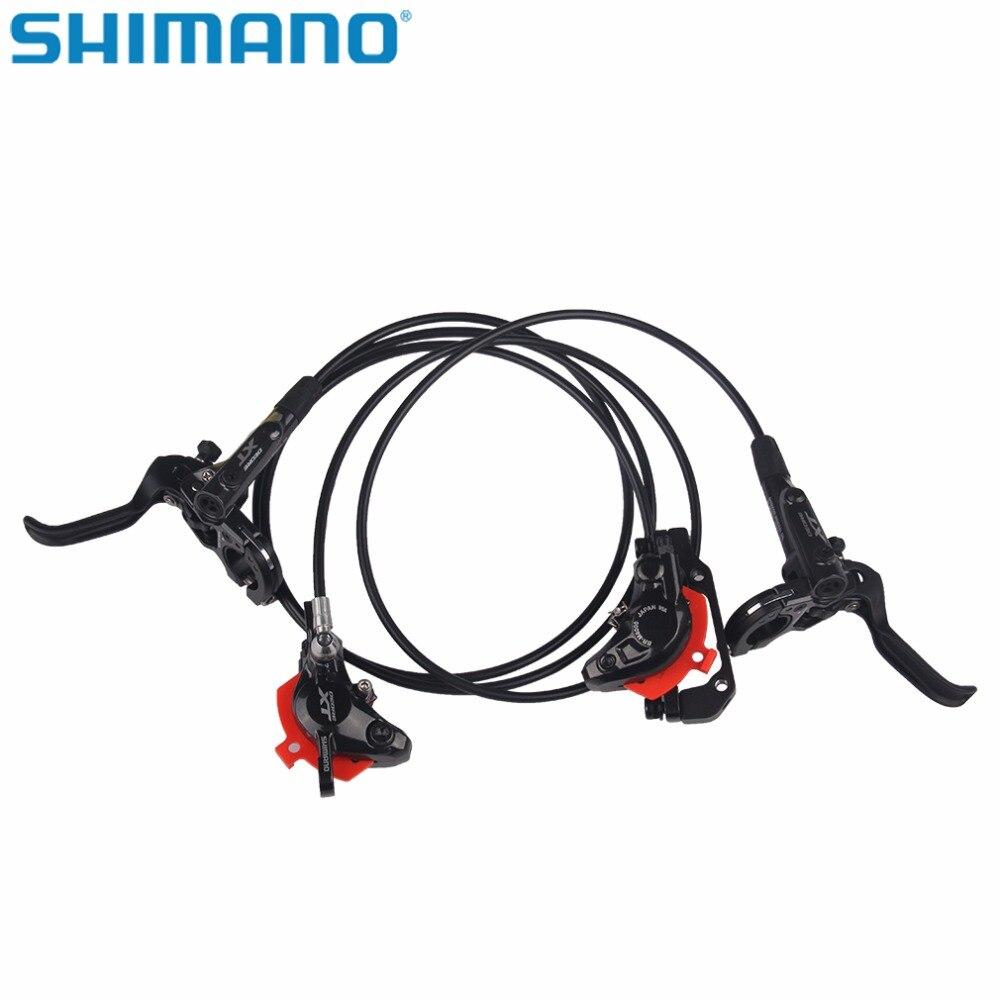 Shimano vélo vélo Deore XT M8000 hydraulique frein à disque Set Deore XT M8000 vélo frein levier + M8000 hydraulique frein à disque noir