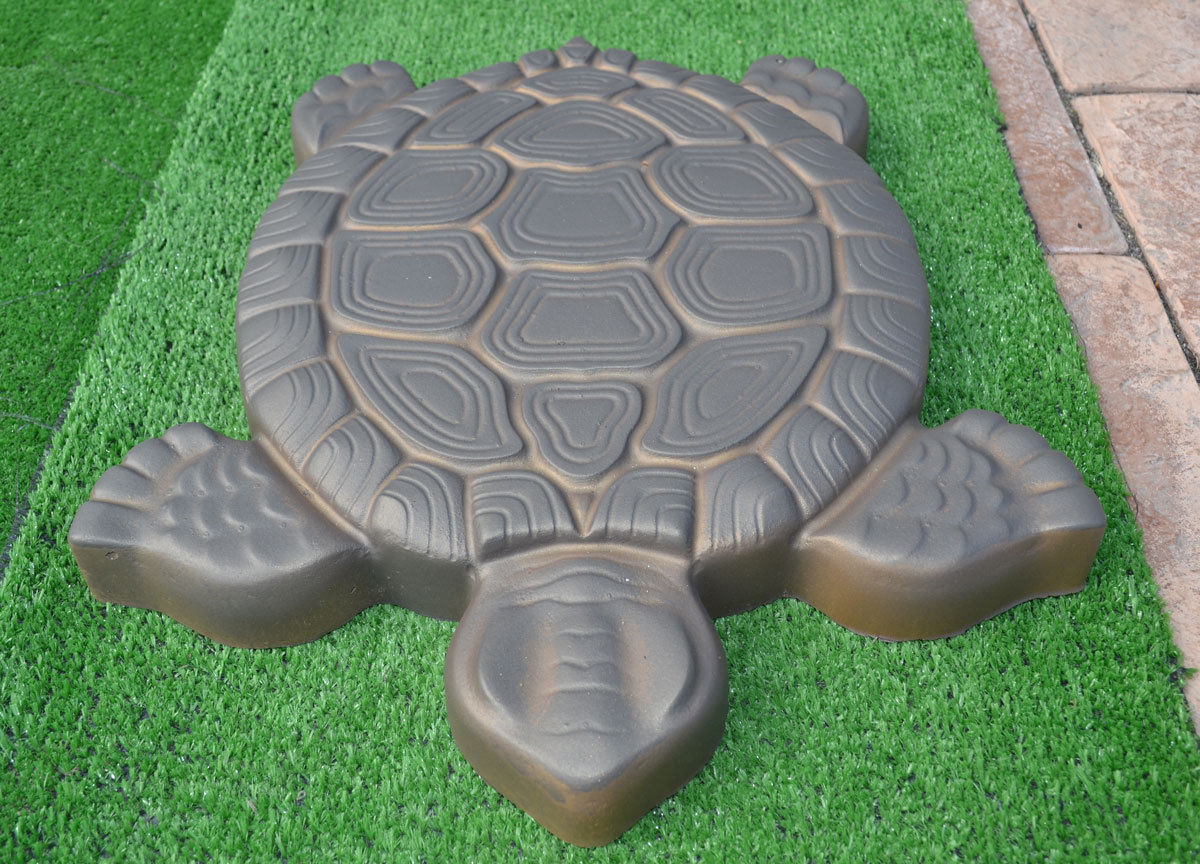 Turtle Stepping Stone Mold Concrete Cement Mould ABS Tortoise for ...