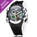 OHSEN Quartz Watch Men Casual Style Fashion Led Digital Water Resistant Hour Clock Dress Neutral Sport Dual Display Wristwatches