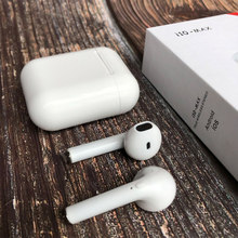 Wireless Bluetooth pops-up i10 max tws i10 tws Air Ear Earphones Earbuds Headset with Charging Box for Apple iPhone android(China)