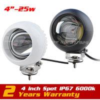 1pcs Lot 25W CREE LED Offroad Light BAR Flood Beam Work Light 4WD BOAT UTE 12V