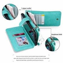 Main Multi-Fonction Portefeuille En Cuir Cas Pour HUAWEI Ascend P9 Lite amovible 2 en 1 14 Détenteurs de Cartes de Bourse Mobile Téléphone sac