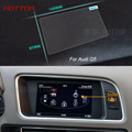 7 Inch GPS Navigation Screen Steel Protective Film For Audi Q5 Control of LCD Screen Car Styling Sticker