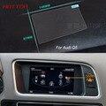 7 Polegada de Aço da Tela de Navegação GPS Controle de Tela LCD Película Protetora Para Audi Q5 Car Styling Adesivo