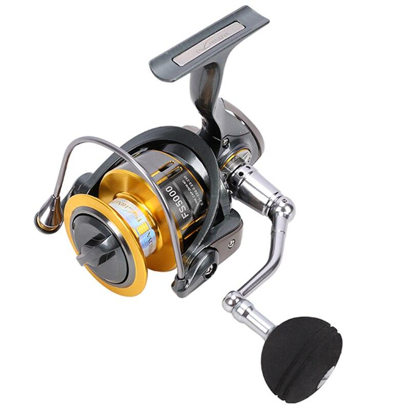 TSURINOYA Fishing Carp Reel FS 4000 5000 9+1BB MAX Drag 11KG Fishing Lure Spinning Feeder Reel Saltwater Spinning Reel-in Fishing Reels from Sports & Entertainment    2