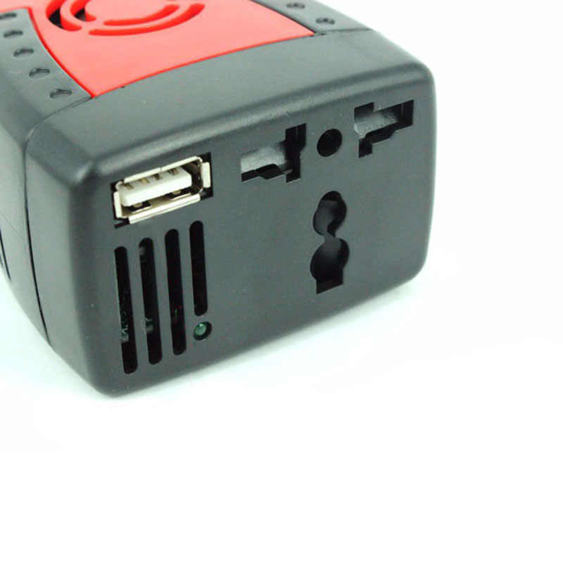 New 150W Car Power Inverter 12V DC To 220V/110v AC Converter Adapter with Cigarette Lighter and USB 2.1A/0.5A for Laptop