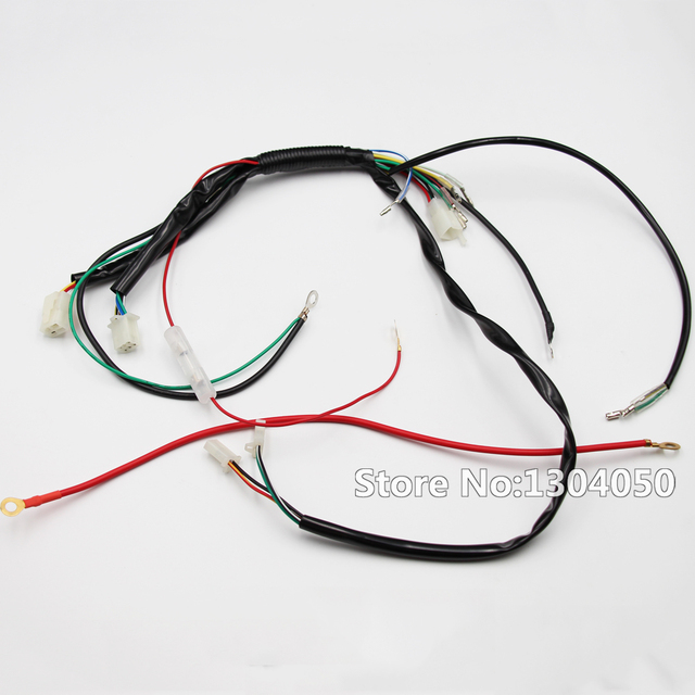 pit dirt bike wiring loom harness for electric start 50cc 70cc 90cc rh aliexpress com pit bike wiring loom diagram pit bike wiring loom diagram