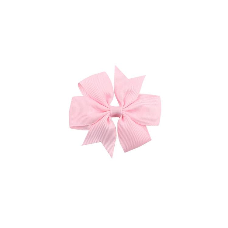 40 цветов сплошная корсажная лента банты заколки шпилька девушка бант для волос, бутик заколки для волос аксессуары для волос - Color: a34 Carnation Pink