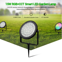 Miboxer FUTC01/FUTC02/FUTC03 Waterproof IP65 9W 15W RGB+CCT Lawn Light DC24V AC110V 220V Outdoor Garden Lighting 2.4G Controller