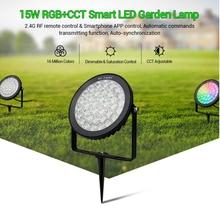 Miboxer FUTC01/FUTC02/FUTC03 Waterproof IP65 9W 15W RGB+CCT Lawn Light DC24V AC110V 220V Outdoor Garden Lighting 2.4G Controller