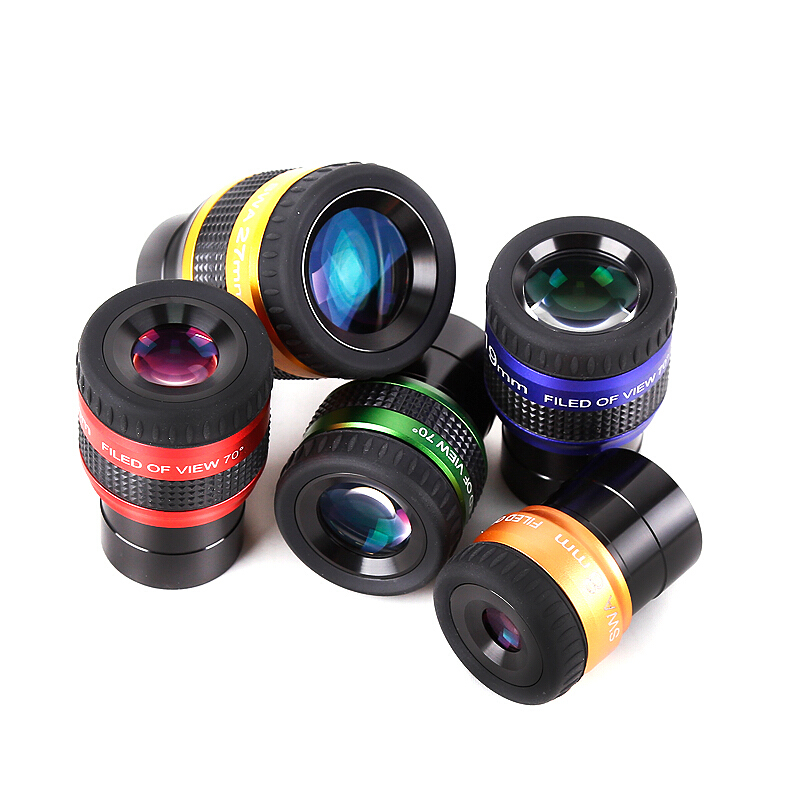 70 Degree Ultra Wide Angle Eyepieces 1 25 Inch Power Eyepiece Space Binoculars Monocular Telescope Astronomical