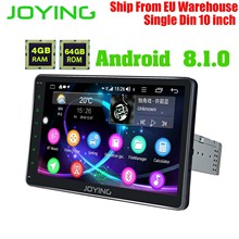 JOYING 4GB+64GB Octa Core Head Unit Android8.1 Universal Car Radio Stereo Multimedia Player Built-in 4G Module DSP Carplay Zlink 7double 2 din head unit android 8 1 universal car radio stereo multimedia no dvd music player built in dsp carplay android auto