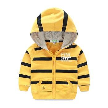 2016 New Boys Hoodies Jacket Children Hooded Sweatshirts Spring Autumn Kids Sport Coat Cotton Baby Outerwear for 2-8 years