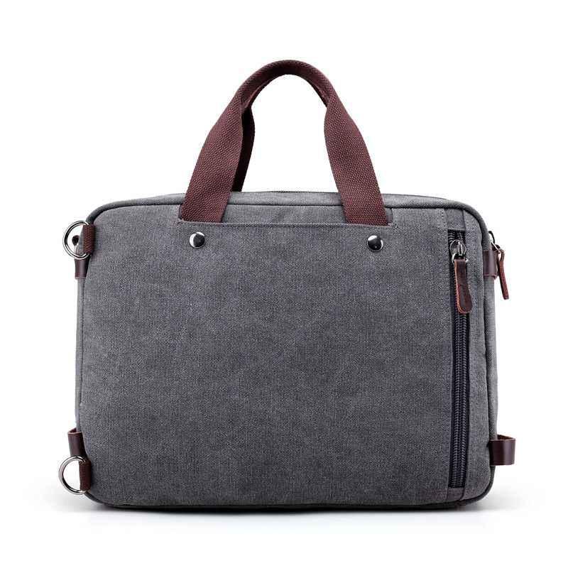 Multi-funcional Saco de Lona dos homens Saco De Viagem No Ombro Mensageiro sacos Crossbody bolsas Casuais Masculinos Grande Capacidade L54