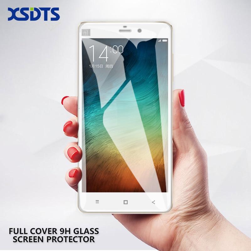 """Nuevo vidrio templado premium para Xiaomi Mi Note Protector de pantalla de cubierta completa Película protectora a prueba de explosiones para Mi Note Pro 5.7 """""""