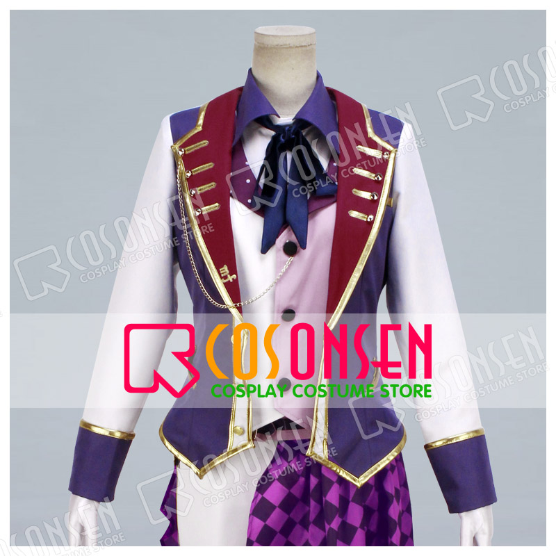 COSPLAYONSEN Idolish7 RESTART POiNTER Sogo Osaka Cosplay Costume new Full Set All Sizes adult costume