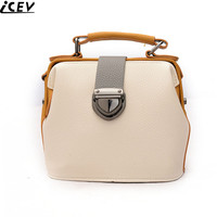 ICEV Brand New Fashion Top Handle Bag Designer High Quality Women Shoulder Clutch Small Panelled Messenger