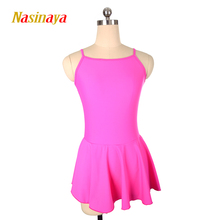 цены на Ice Skating Figure Skating Training Dress Gymnastics Adult Girl Short Skirt Performance Competition Polyamide 0  в интернет-магазинах