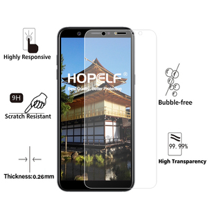 Image 2 - Tempered Glass for Samsung Galaxy A6 Plus 2018 Screen Protector 9H 2.5D Phone Protective Glass for Samsung Galaxy A6 2018 Glass