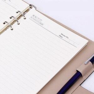 Image 5 - Блокнот А5 B5 ручной работы из искусственной кожи на спирали, деловой Органайзер в твердой обложке для дневника, недели, планировщика, ежедневника
