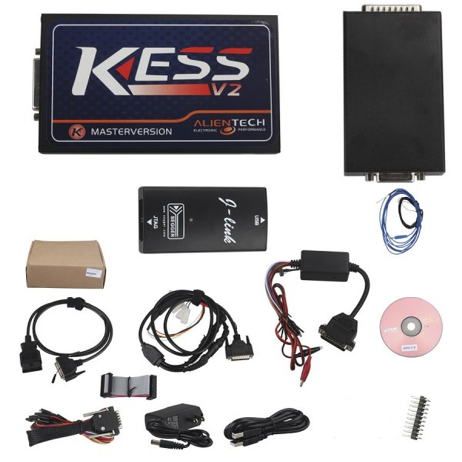 GUBANG V2.10 KESS V2 OBD Tuning Kit Master Version OBD2 Manager Best Car Truck ECU Programmer ECU Programming Re-Mapping Tool kess newest v2 28 obd2 tuning kit kess v2 fw4 036 sw2 28 ecu chip tuning tool free ecm titanium software free ship