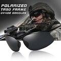 2020 Топ Сверхлегкий TR90 поляризованные солнцезащитные очки анти-УФ вождения Для мужчин оттенки мужские армейские солнцезащитные очки Gafas De Sol