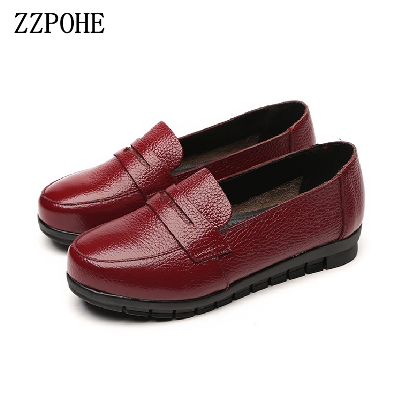 все цены на ZZPOHE Spring new mother soft bottom shoes middle - aged casual women shoes black non - slip comfort large size grandma shoes