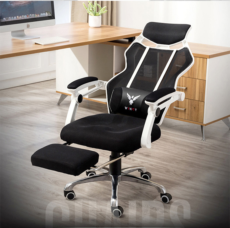 High quality Mesh Computer Chair Household Office Ergonomic Swivel Chair with massage function free shipping стоимость
