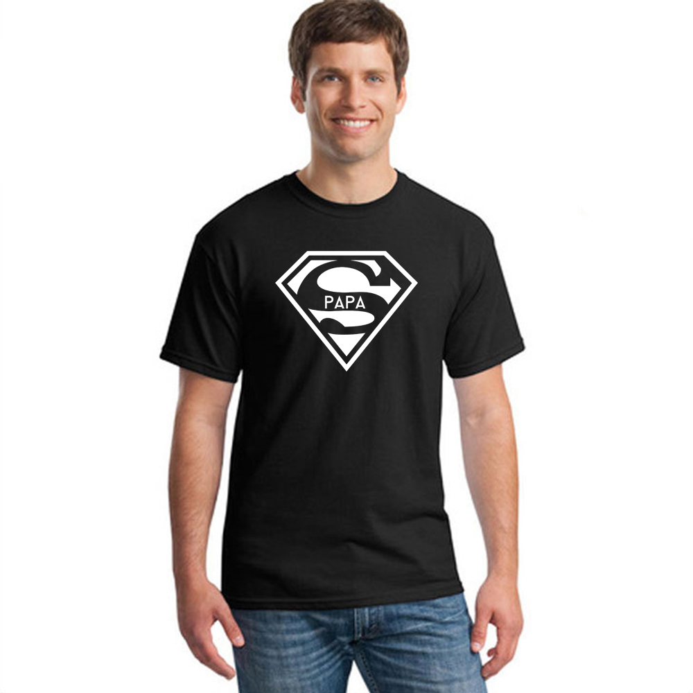 Super Papa   T  -  shirt   Fathers Day Gift New Dads Funny   T     Shirt   Best Dad Ever Tshirt Mens Hipster Slogan Tee   Shirt   Cotton Casual Top