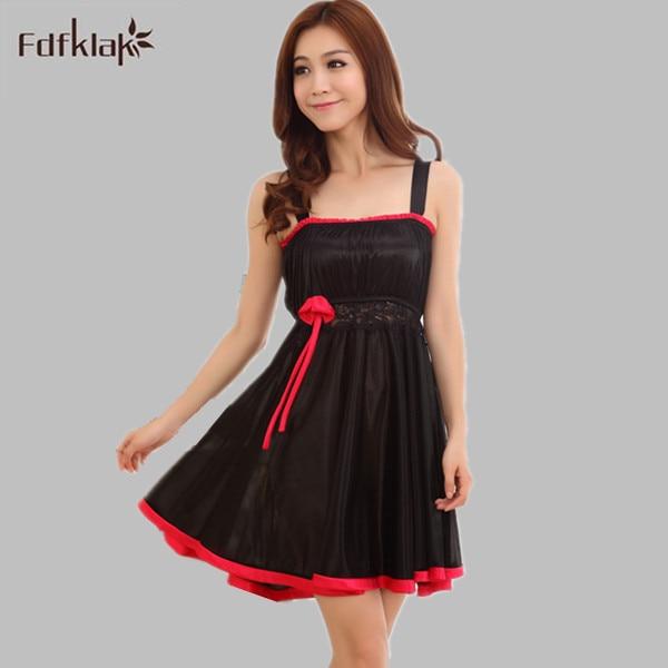 Silk Gowns For Women: Summer Dresses Women Silk Sleepwear Sexy Nightwear Long